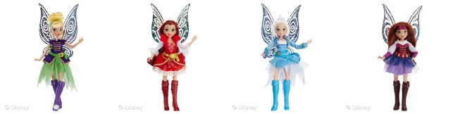 Deluxe Pirate Fairy Dolls