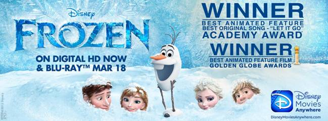 Frozen Crosses the One Billion Dollar Mark at the Worldwide Box Office