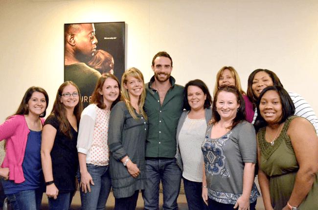 Group photo with Joshua Sasse.  Photo credit: Staci S. of 7 on a Shoestring.