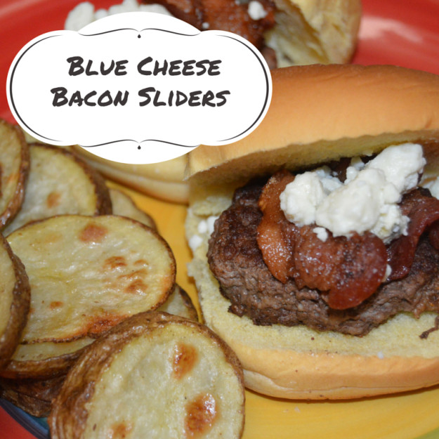 Bacon Blue Cheese Burger Sliders