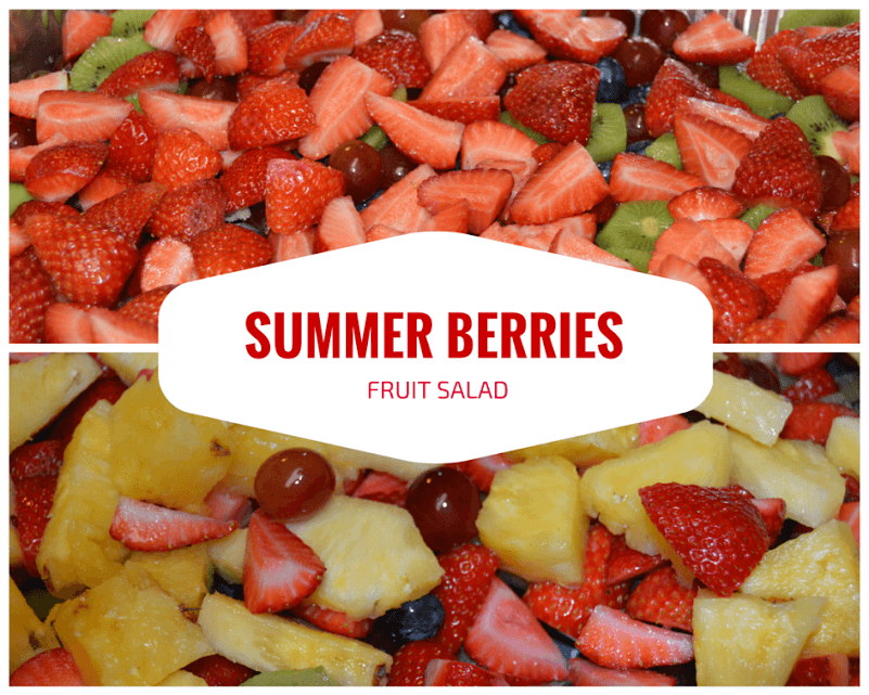 Summer Berries Fruit Salad