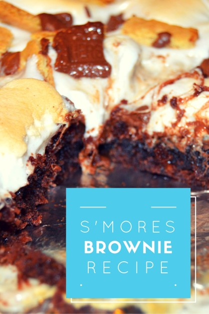 Delicious S'mores Brownies Recipe