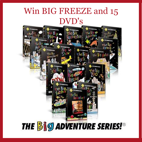 Little Mammoth Big Freeze Giveaway