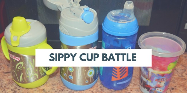 sippy cup battle