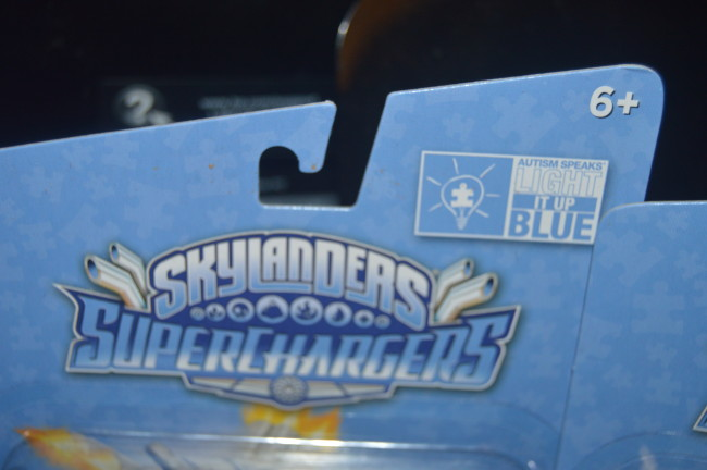 Skylanders Light It Up Blue Superchargers (8)