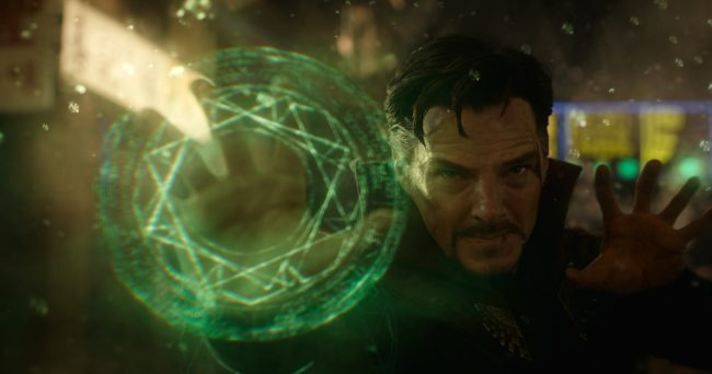 Marvel's DOCTOR STRANGE..Doctor Stephen Strange (Benedict Cumberbatch)..Photo Credit: Film Frame ..©2016 Marvel. All Rights Reserved.